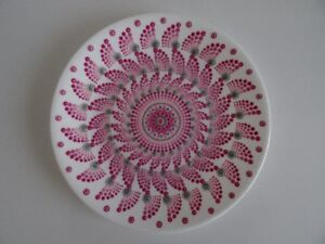 Hand Painted Decorative Plate    Point to Point Technique