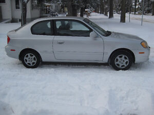 2005 Hyundai Accent GS Coupe,155 KMS.(Reduced)