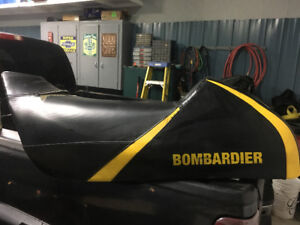 Zx chassis Skidoo seat for sale