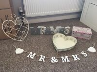 Wedding bundle bunting/bubbles and more