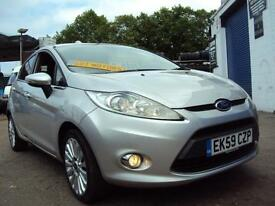 Ford Fiesta TITANIUM – AUTOMATIC – LOW MILEAGE- 5 Door – 1.4 Petrol –£4,999