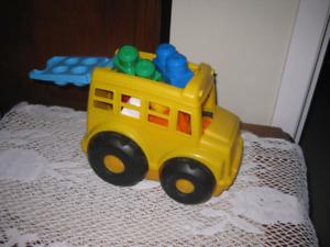 Petit autobus Mega Blocks +blocs