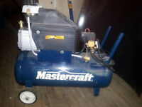 8 gallon air compressor Mastercraft