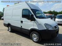 2011 61-REG IVECO DAILY SWB, MWB, HIGH ROOF, ONE OWNER, ROOF BEACONS, PLY LINED