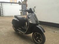 2010 Piaggio Vespa GTS Super 300 cc scooter. 1 Years MOT. Has sent to side panel. Runs great.