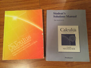 Calculus for Biology and Medicine with solutions manual + exams