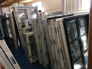 LIQUIDATION gros lot de fenêtres neuves, FAUT QUE ÇA SORTE !