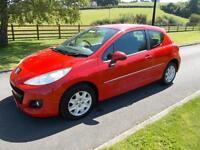 PEUGEOT 207 ACCESS 1.4 PETROL CAR 11 REG 48,100 MILES
