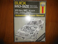 1974-1987 Buick Regal RWD Grand National GNX T-Type 3.8 V6 Turbo
