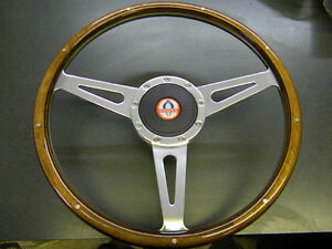 SHELBY COBRA, ELEANOR, WOOD STEERING WHEEL, MAGNUM 500 RIMS