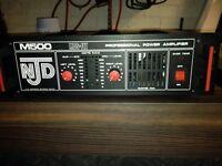 NJD power amp 500