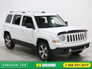 2016 Jeep Patriot HIGH ALTITUDE 4X4 AUTO A/C CUIR TOIT BLUETOOTH