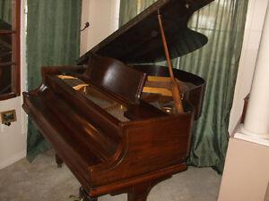 Vintage Bram Bach Baby Grand Piano