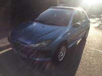 PEUGEOT 206 1.4 2001-1 YEARS MOT-CHEAP CAR £375