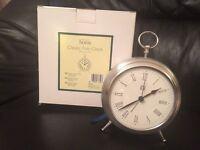 Marks & Spencer classic fob clock BNIB