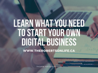 What is required to start your own online business?
