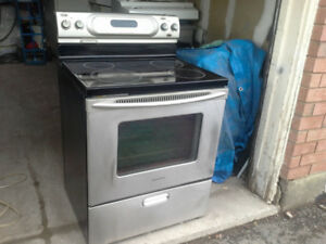 Kitchen Aid Stainless Stove