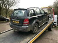 2004 Kia Sorento 2.5 CRDi XS 5dr Auto spares or repairs ESTATE Diesel Automatic