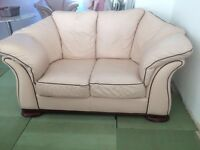 Genuine Leather 3 seater, 2seater and chair
