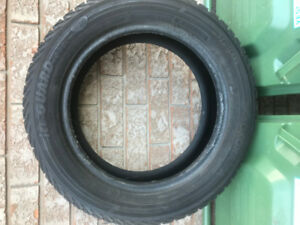 4 Used Winter Tires - Yokohama iG52C