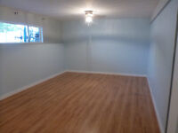 Spacious one bedroom basement suite available September 1 :)
