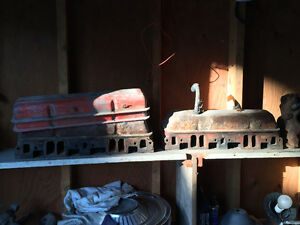 Cylinder heads, Manifolds, Crankshaft, Water pump and var. parts Regina Regina Area image 1