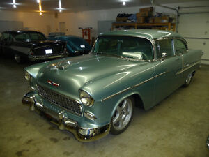 1955 Chevrolet Belair two door resto mod