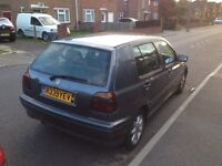 VW golf mk3 auto 1.6 petrol SPARES and REPAIRS