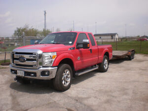 2012 Ford F-250 XLT Pickup Truck + Nando 16ft Trailer