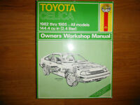 A60 Toyota Celica 1982-1985 GT GT-S 2.4L 22RE Shop Manual