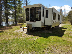 40 Ft. Conquest by Gulf Stream Park Model Trailer