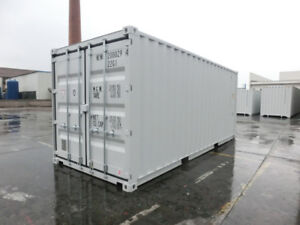 20' NEW One-Trip Storage/Shipping/Seacan Containers for SALE!