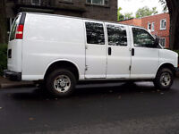 Van and mover for small moves