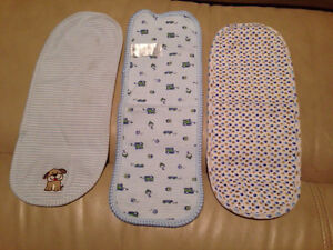 Burp cloth x3 new