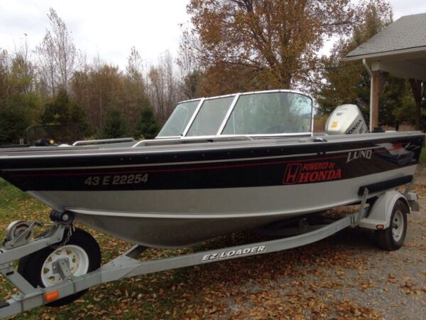 Used 2005 Lund Boat Co fisherman 1800 adventure