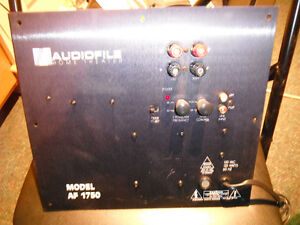 SUB WOOFER PLATE AMPLIFIER