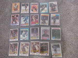 80,000 Hockey Cards from 1972 and up-ALL MAJOR ROOKIES(OPC)