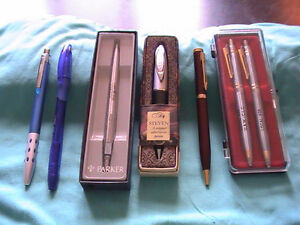 Assorted Pens (Parker, Xeno, Bic & Special Box Set)