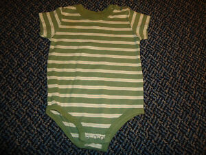 Boys Size 12 Month Faded Glory Short Sleeve T-Shirt Style Onesie