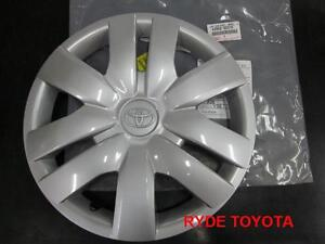 YARIS 14 INCH SINGLE HUBCAP 2008-2011 **TOYOTA GENUINE PARTS**