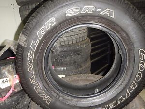 Set of 4 Winter Tires GoodYear - 235-70-R16 for Sale $59.00 each