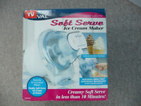 Brand New Ice Cream Maker - No Ice or Rock Salt Required