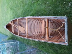 Large Cedar Strip canoe for sale