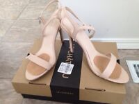 Beige strappy sandals MINT condition!