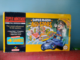 Boxed Mario All Stars Snes