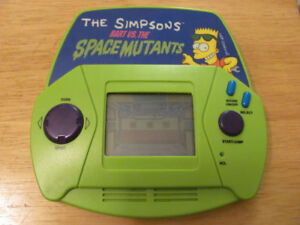 The Simpsons Handheld Game Bart Vs.The Spacemutants Acclaim 1991