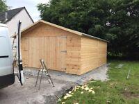 Macintyre sheds & wooden garages