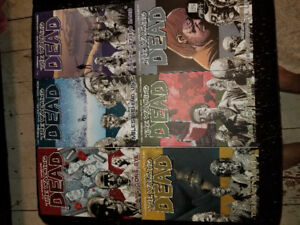 Walking Dead Graphic/Novel Comics - Volumes 1 to 6