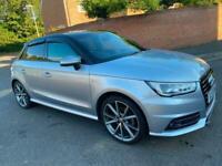 2017 Audi A1 1.4 TFSI 150 Black Edition 5dr S Tronic HATCHBACK Petrol Automatic