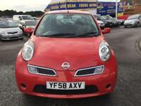 2008 NISSAN MICRA 1.4 ACENTA RED